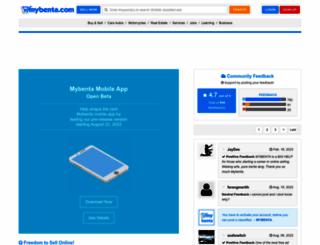 mybenta.com screenshot