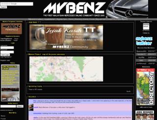 mybenz.org screenshot