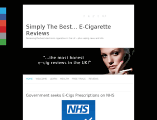 mybestelectroniccigarette.co.uk screenshot