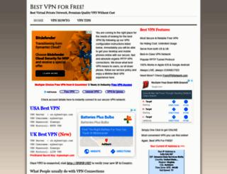 mybestvpn.com screenshot