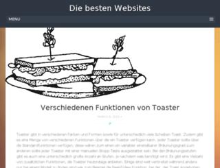 mybestwebsites.de screenshot