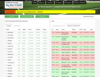 mybetinvest.com screenshot