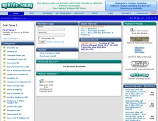 mybids.com.my screenshot