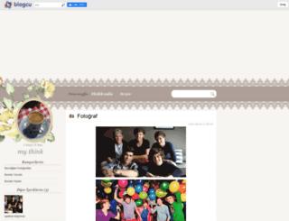 myblogmythink.blogcu.com screenshot