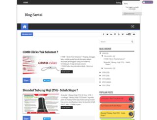 myblogsantai.blogspot.nl screenshot