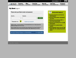 mybond.hpb.co.uk screenshot