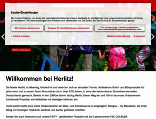 mybookflex.herlitz.eu screenshot