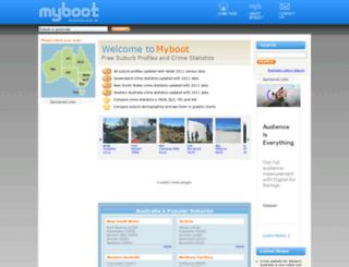 myboot.com.au screenshot