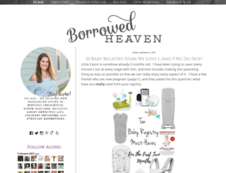 myborrowedheaven.blogspot.com screenshot