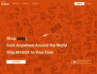mybox.postaplus.com screenshot