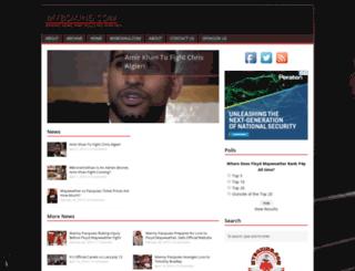 myboxing.com screenshot