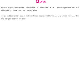 mybrac.brac.net screenshot