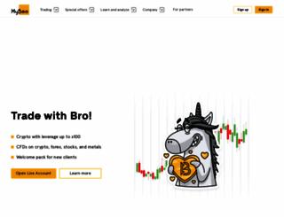 mybro.com screenshot