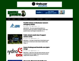 mybrockvillenews.com screenshot