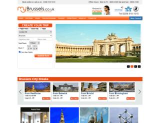mybrussels.co.uk screenshot