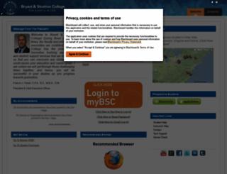 mybsc.bryantstratton.edu screenshot