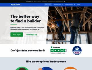 mybuilder.com screenshot
