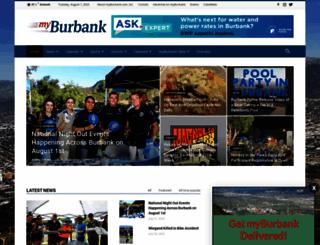 myburbank.com screenshot