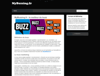 mybuzzing.fr screenshot