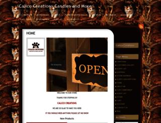 mycalicocreations.com screenshot
