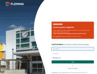 mycampus.flemingcollege.ca screenshot