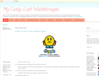 mycandylovewalkthroughs.blogspot.com screenshot
