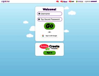 mycapstonelibrary.com screenshot