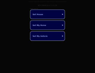 mycar4sale.co.za screenshot