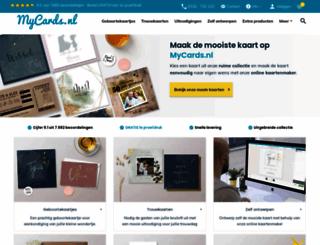 mycards.nl screenshot