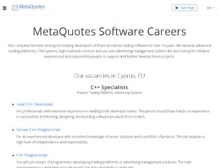 mycareeri.com screenshot