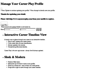 mycareerplay.com screenshot