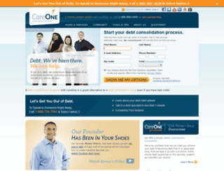 mycareone.careonecredit.com screenshot
