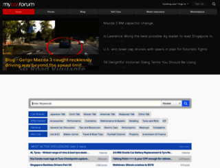 mycarforum.com screenshot