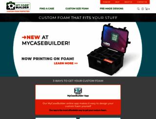 mycasebuilder.com screenshot