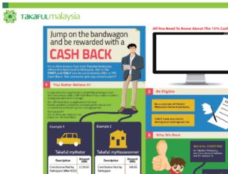 mycashback.com.my screenshot