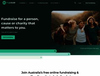 mycause.com.au screenshot