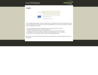 mycdsglobal.com screenshot