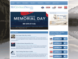 mycentraloregon.com screenshot