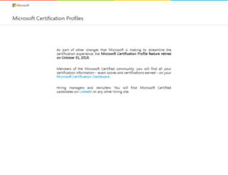 mycertprofile.com screenshot