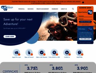 mycfcu.com screenshot