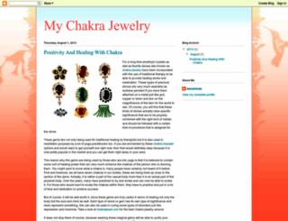mychakrajewelry.blogspot.com screenshot