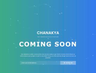 mychanakya.com screenshot