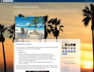 mychangesinlatitudes.blogspot.com screenshot