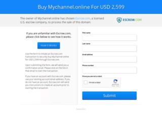 mychannel.online screenshot