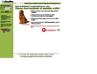 mycheckfree.com screenshot
