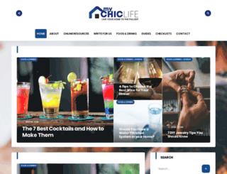 mychiclife.com screenshot