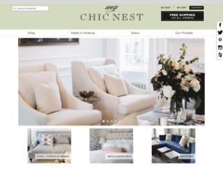 mychicnest.com screenshot