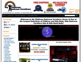 mychildrensbedroomfurniture.com screenshot