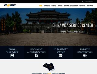 mychinavisa.com screenshot