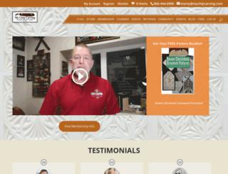 mychipcarving.com screenshot